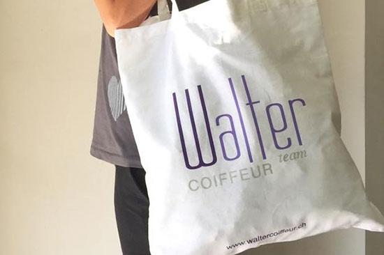 Le Shopping Bag firmate Walter Coiffeur Team!